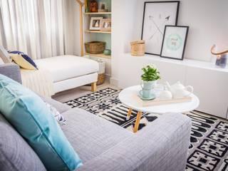 Salas de estar escandinavas por homify