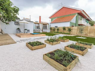 Jardins  por homify, Escandinavo