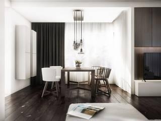 Comedores de estilo moderno de Cutout Architects Moderno