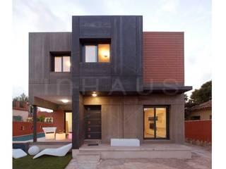 Terrasse von Casas inHAUS, Minimalistisch