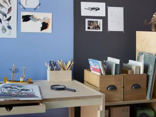 Pokój chłopca Minimalistyczny pokój dziecięcy od FAM FARA Minimalistyczny
