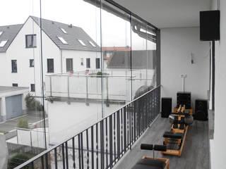 SIMONE JÜSCHKE INNEN|ARCHITEKTURが手掛けたベランダ