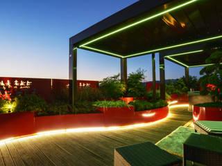 Tecnica Verde Taman Modern Besi/Baja Red