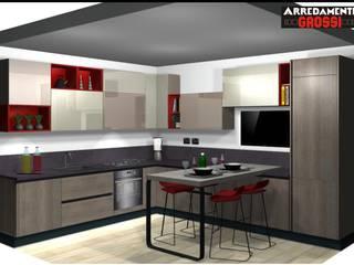 Il progetto: Cucina in stile in stile Moderno di Arredamenti Grossi