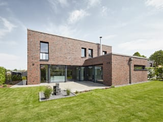 Philip Kistner Fotografie 現代房屋設計點子、靈感 & 圖片 磚塊 Brown