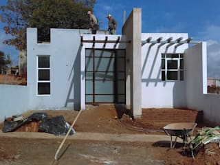 CASA MAGISTERIO: Casas de estilo  por GNG ARQUITECTURA Y DISEÑO