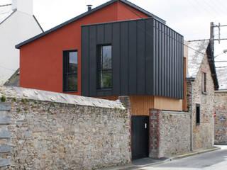 Renovation et extension d'une maison de ville Maisons modernes par EC architecture Moderne