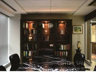 Corporativo por Cintia Sauner Arquitetura e interiores Clássico