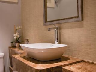 lavabo:   por Cintia Sauner Arquitetura e interiores