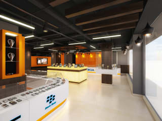 3d view 1:  Commercial Spaces by The Brick Studio