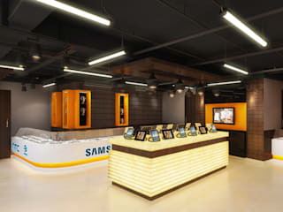 Commercial Spaces by The Brick Studio , Modern