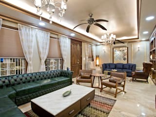 Recent Projects Classic style living room by U & I Interiors Pvt. Ltd. Classic