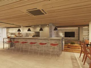 AM4 APARTAMENT REVIWED Varandas, alpendres e terraços modernos por STUDIO LUIZ VENEZIANO Moderno