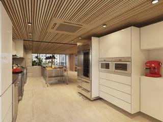 AM4 APARTAMENT REVIWED Cozinhas modernas por STUDIO LUIZ VENEZIANO Moderno