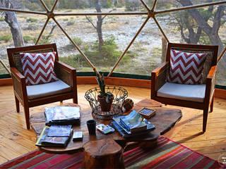 Confort y tranquilidad Livings de estilo moderno de Angélica Guzmán Moderno