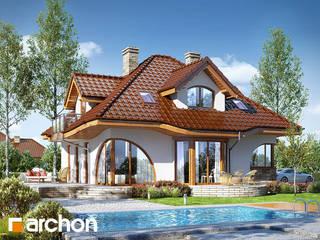 Projekt domu ARCHON+ Dom w zefirantach 2 (G2) od ARCHON+ PROJEKTY DOMÓW