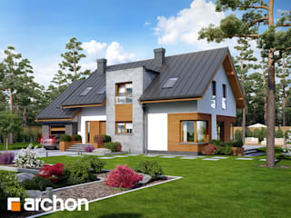 Projekt domu ARCHON+ Dom w moliniach od ARCHON+ PROJEKTY DOMÓW