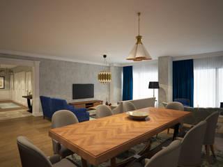 yücel partners – İ&M YILDIZ EVİ: modern tarz Oturma Odası