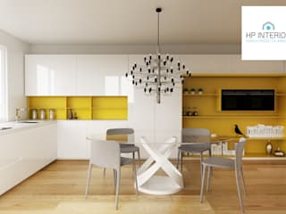HP Interior srl CuisineTables, chaises & bancs MDF Jaune