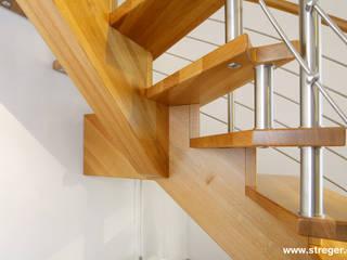 Die persönliche Note:   von STREGER Massivholztreppen GmbH