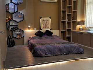 Modern style bedroom by Alecc Interior Design Modern