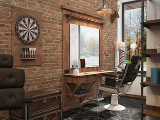 "Barber Shop ""Winchester"" от Grafit Architects Лофт"