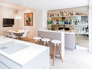 Hampstead London Modern kitchen by 3 Oak Wood Flooring Modern