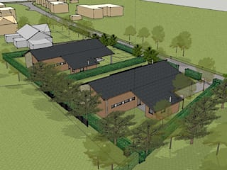 New Eco homes, Somerset de O2i Design Consultants Moderno