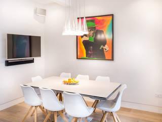 Hampstead London Modern dining room by 3 Oak Wood Flooring Modern