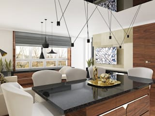 Moderne Wohnzimmer von TutajConcept Modern