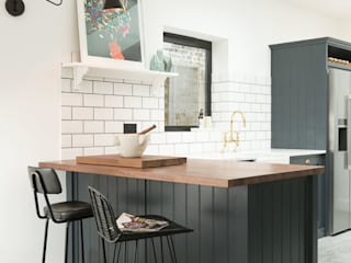 The East Dulwich Kitchen by deVOL Classic style kitchen by deVOL Kitchens Classic Wood Wood effect