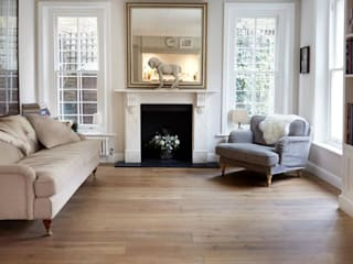 West London Engineered Oak Project :  Living room by 3 Oak Wood Flooring