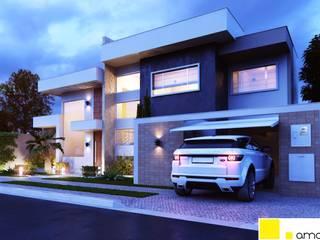 Houses by Amauri Berton Arquitetura, Modern