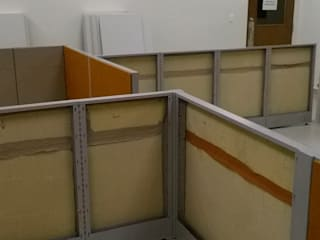 Muebles Modernos para Oficina, S.A. Offices & stores Glass Beige