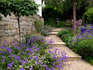 Romantischer Villengarten Klassischer Garten von purpurgrün landschaftsarchitektur.gartenarchitektur Klassisch