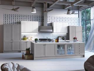 de style  par PINO Cocinas y Baños, Rustique