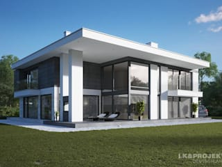 LK&Projekt GmbH Casas estilo moderno: ideas, arquitectura e imágenes