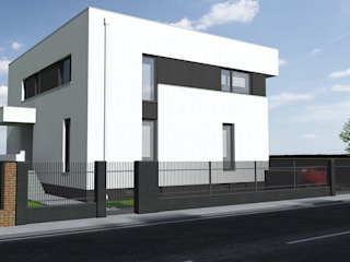 Casas modernas por mia architekci s.c. Moderno