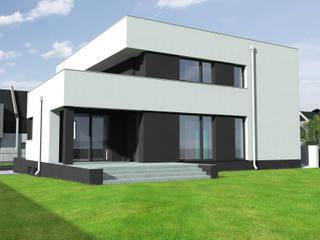 Дома в стиле модерн от mia architekci s.c. Модерн