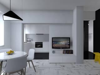 Кухня в стиле модерн от mia architekci s.c. Модерн