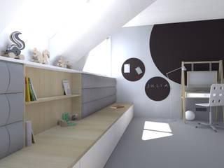 Детская комната в стиле модерн от mia architekci s.c. Модерн