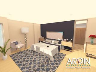 Schlafzimmer von ARDIN INTERIORISMO, Industrial