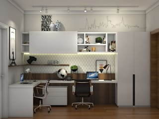Modern Study Room and Home Office by Tendenza Arquitetura Modern