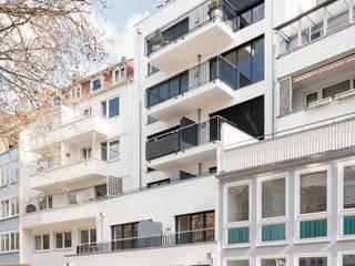 Die Baulücke in der Stadt Moderne Häuser von Hellmers P2 | Architektur & Projekte Modern
