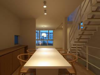 Scandinavian style dining room by エコリコデザイン一級建築士事務所 Scandinavian