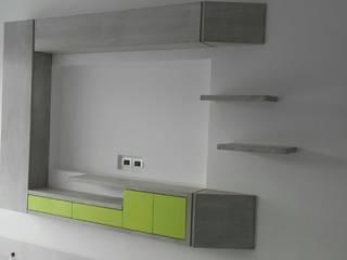 PROYECTO MOBILIARIO HOGAR. ÁREAS COMUNES.:  de estilo  por La Carpinteria - Mobiliario Comercial, Moderno