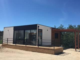 casa modular Kitur Casas minimalistas por KITUR Minimalista
