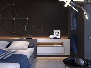 Minimalist bedroom by Room Краснодар Minimalist