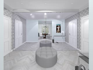 Corridor & hallway by Awer Design, Eclectic