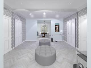 Pasillos y vestíbulos de estilo  por Awer Design, Ecléctico